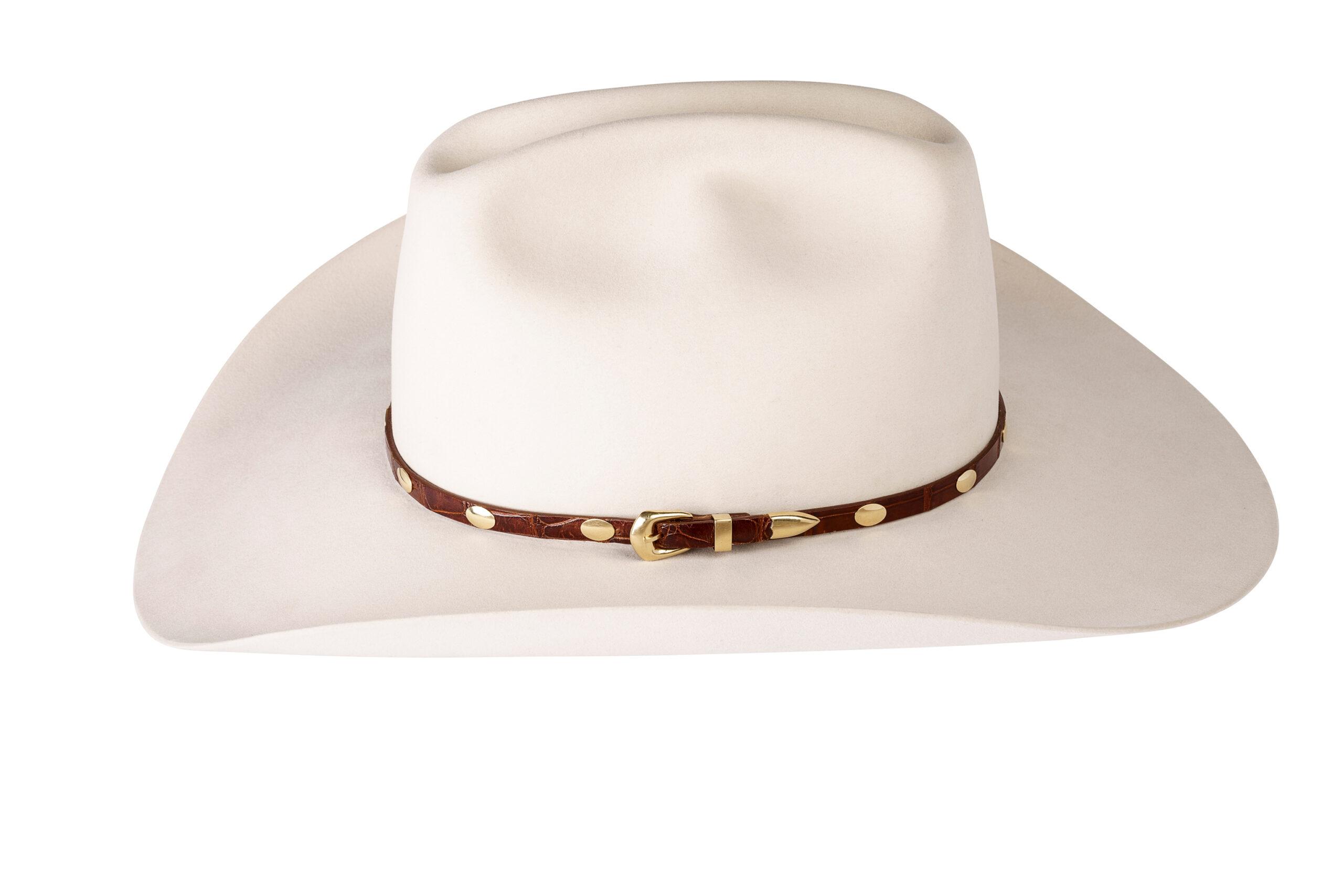 Kallas 18K Gold Concho Hat Band