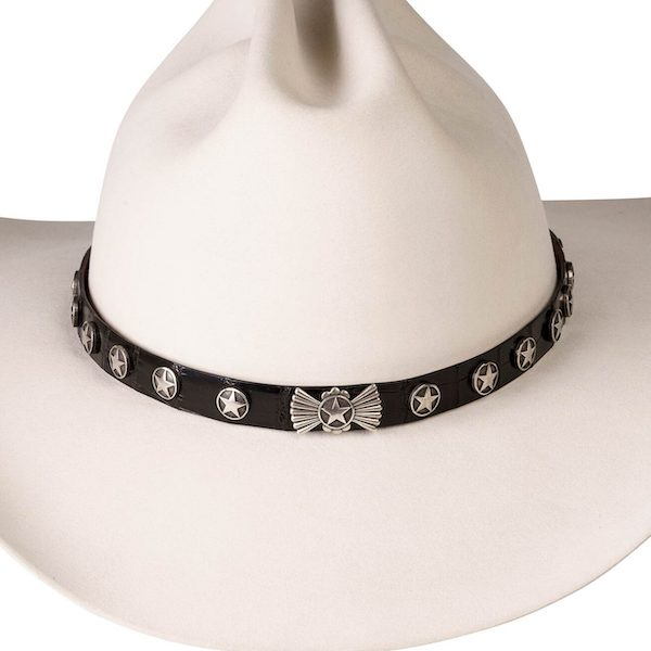 Lone Star Silver Hat Band