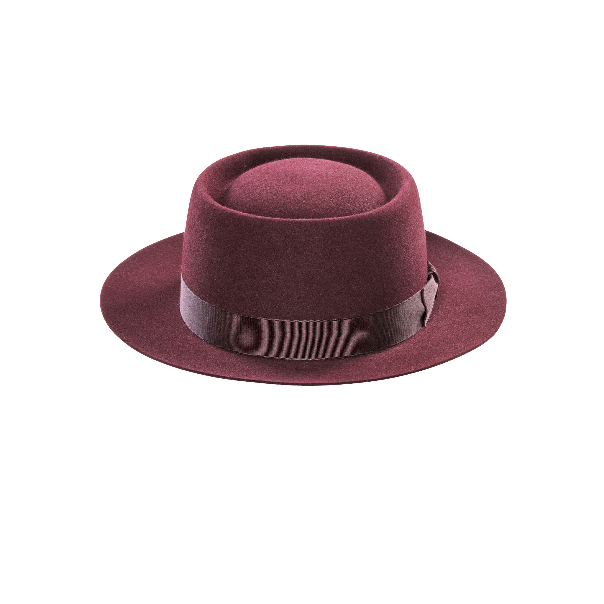 Pork Pie Fur Felt Hat