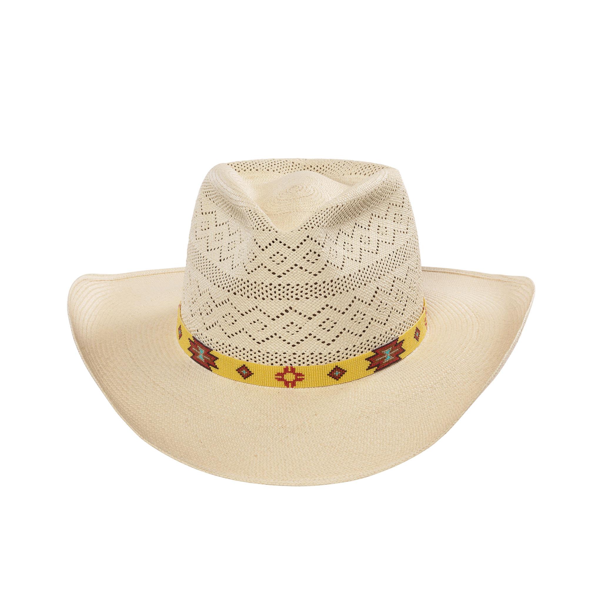 Semi-Calado Santa Fe Safari Panama Hat