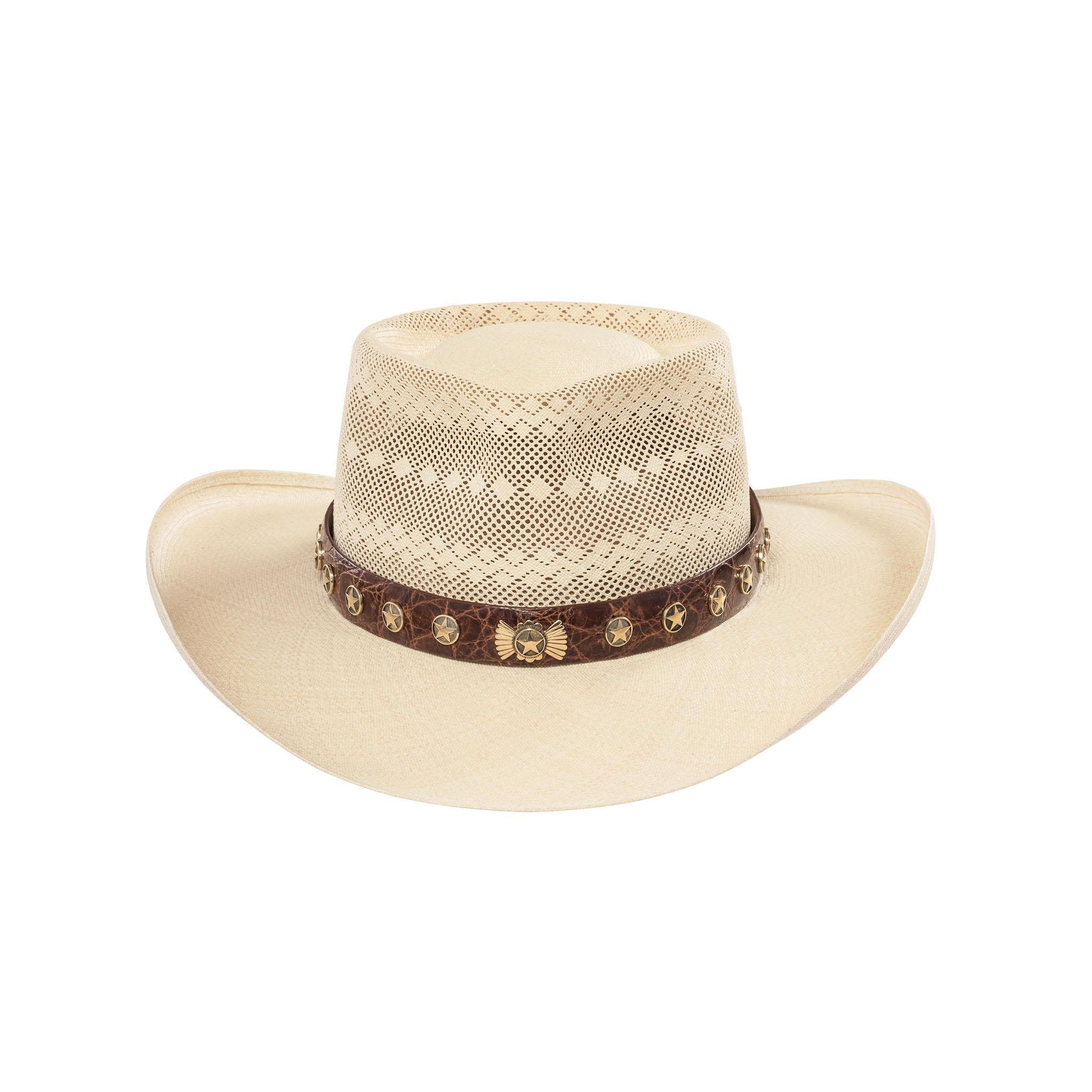 Tecate Gambler Semi-Calado Panama Hat