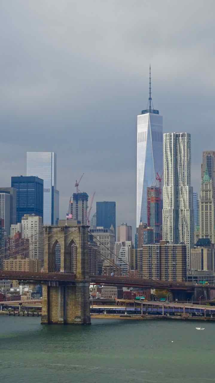 New York - Brooklyn Bridge - Manhattan - di Claudio Leoni