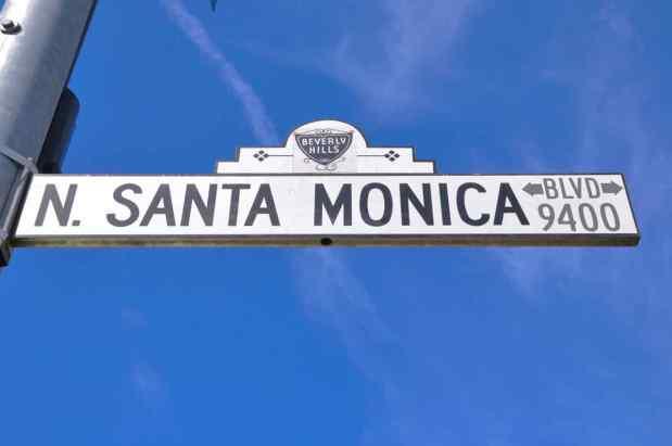 Rodeo Drive - Beverly Hills - Los Angeles - California di Claudio Leoni