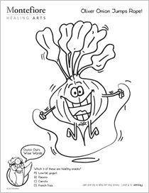 Coloring Pages for Children with a Healthy Message