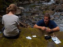 Litter Release - Rio San Lorencito - Downstream 4-4-2009 1-55-45 PM