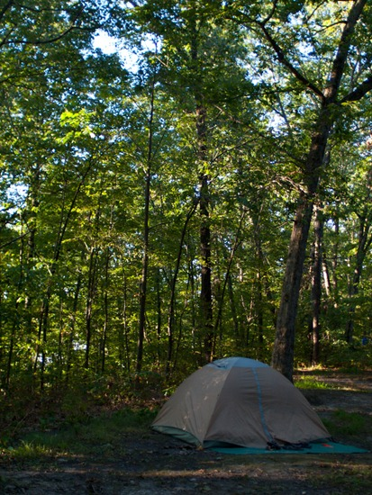 Camping at Zaleski State Forest - 09.05.2010 - 08.13.33