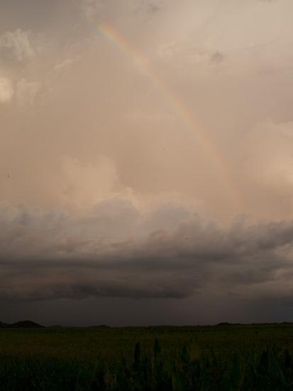 Rainbow from bridge - 09.15.2010 - 19.26.52