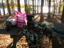 Camping at Mistletoe State Park - 11.22.2015 - 14.54.18