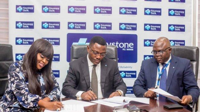 Funke Akindele signs Endorsement deal with Keystone Bank