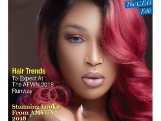 Dabota Lawson covers Vanguard Allure's Latest Issue