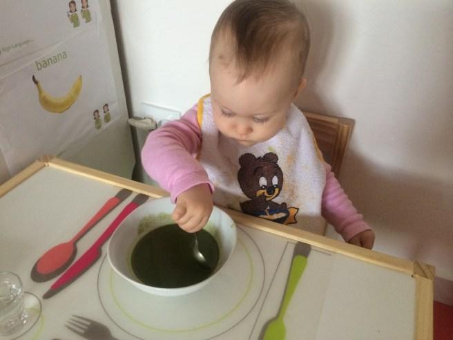 Obľúbená špenátová polievka