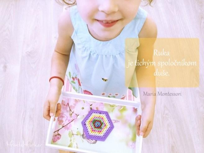 Montessori citat ruka