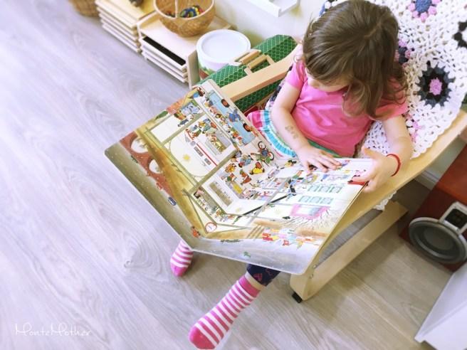 potulky montessori knizka pre deti