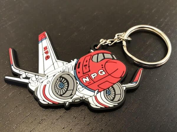 custom rubber keychains pvc