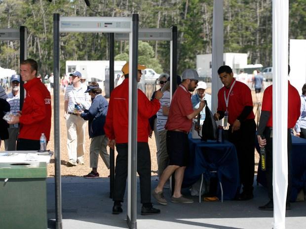 安全是圆石滩美国公开赛的重中之重