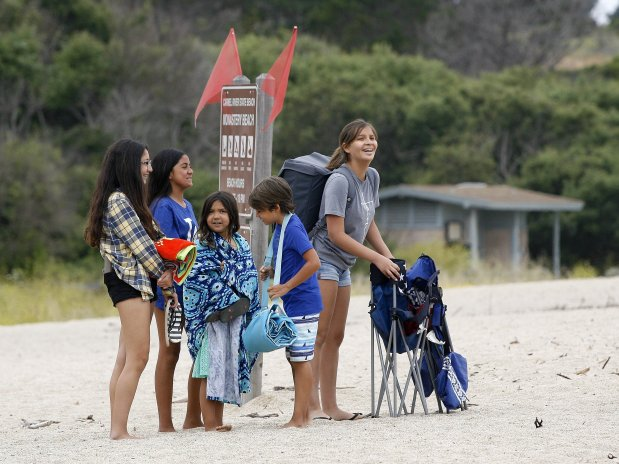 State Parks adds lifeguard tower to Monastery Beach, weeks