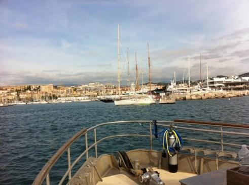 Retour de plongée à Cannes, HS ou pas ?