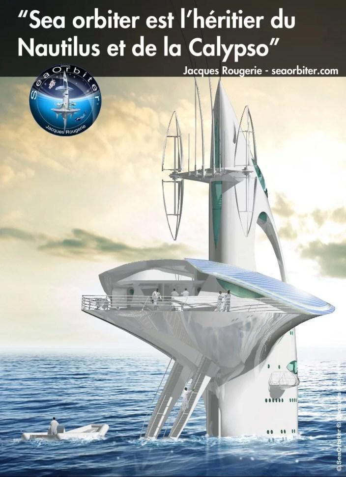 Jacques Rougerie sur les traces de Jules Verne et Jacques-Yves Cousteau !