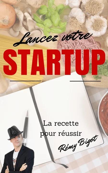 livre réussite startup