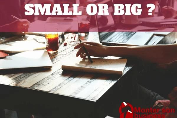 startup grande ou petite