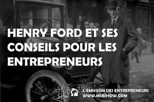 conseils entrepreneurs henry ford