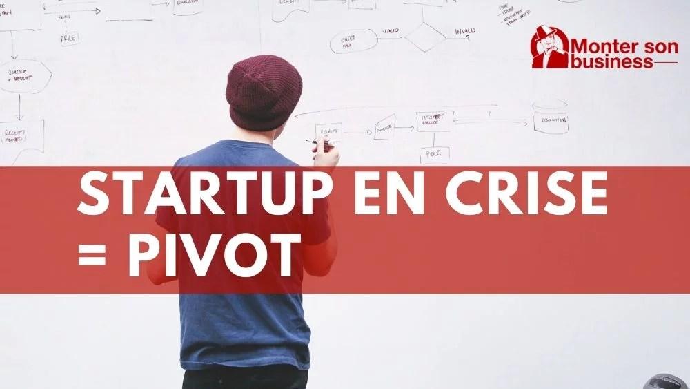 startup pivot crise