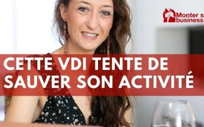 Cette VDI (vendeuse indépendante à domicile) veut sauver son activité