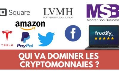 Ces entreprises veulent dominer le Bitcoin et les cryptomonnaies !