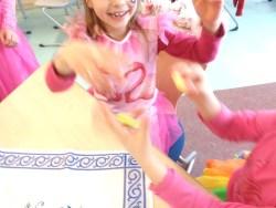 Montessori Grundschule Königs Wusterhausen_Fasching vom 5. März 2019_Ringtausch