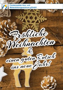 FAWZ_Fröhliche Weihnachten 2018