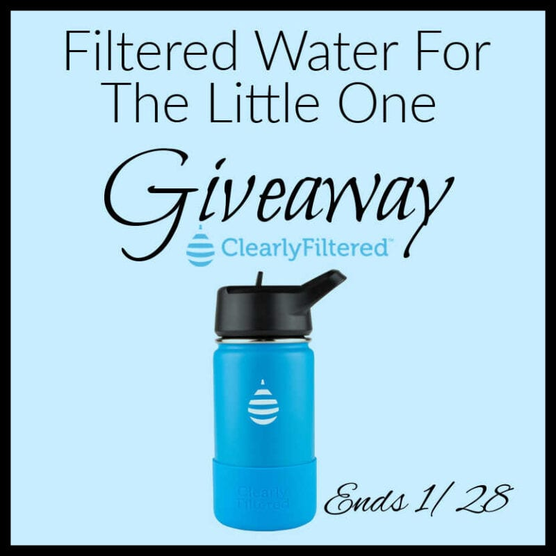 Filtered Water for the Little One #Giveaway Ends 1/28 @clearlyfiltered @las930
