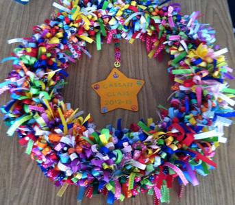Acts of Kindness:  The Kindness Wreath