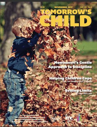 Tomorrow's Child – November, 2017
