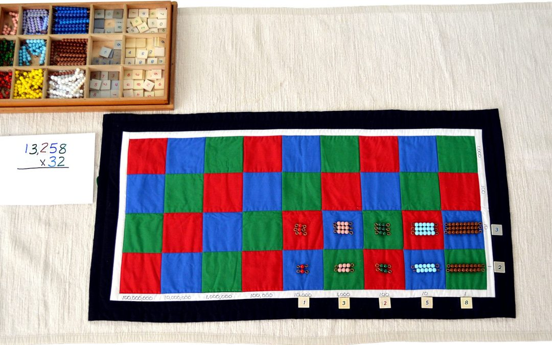 The MontessoriCheckerboardfor Long Multiplication