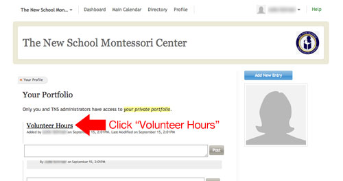 click-professional-hours-memberhub-dashboard