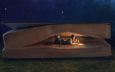 KARANLIKTA KİTAP OKUMA