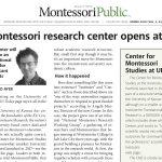 Montessori Research Center Opens at KU