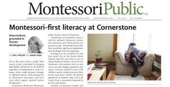 MontessoriPublic—Print Edition <br> Volume 3 Number 1: Literacy