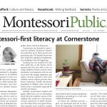 MontessoriPublic—Print Edition <br> Volume 3 Number 1: Literacy