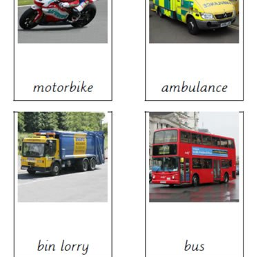Vehicles (Different Types)