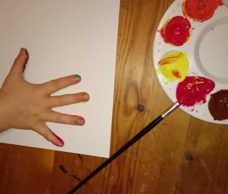 Printing hand