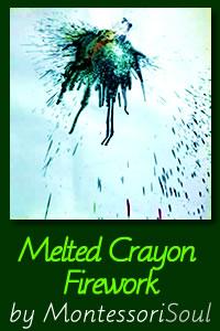 Melted Crayon Firework