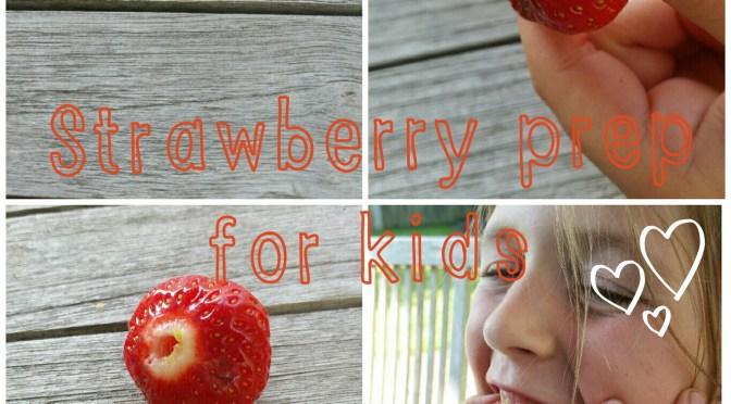 Strawberry straw