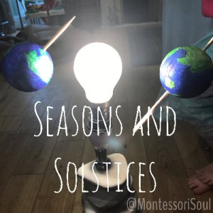 Learning about Seasons and Solstices