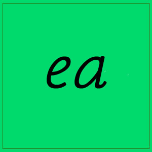 ea sound with letters