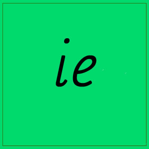 ie – sounds
