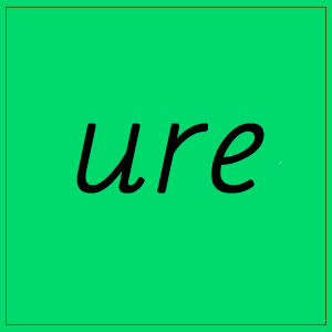 ure – sounds