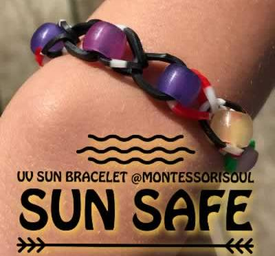 Sun Safety for Kids with UV Bracelets