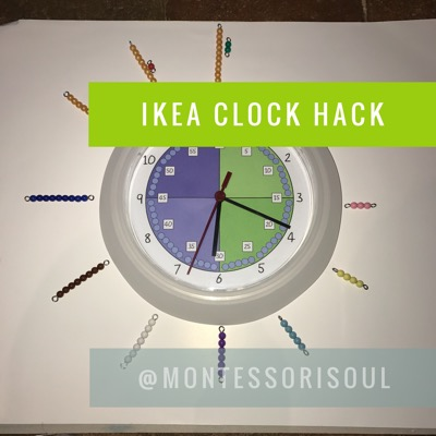 5 Minute Ikea Classroom Clock hack - Free Download
