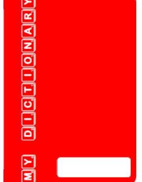 Personal Dictionary – Red